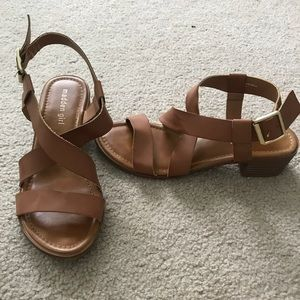 Madden girl strappy sandals size 8
